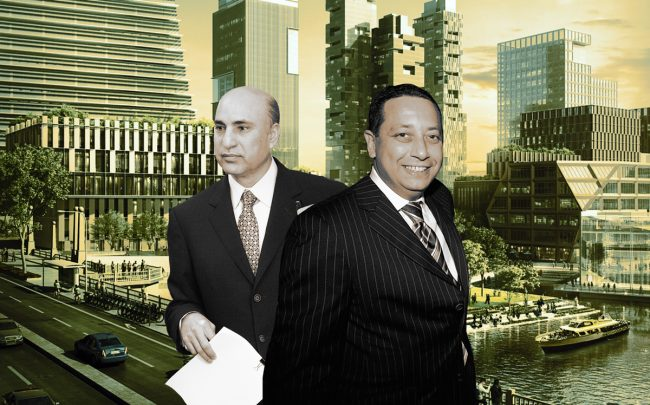 Tony Rezko and Felix Sater with The 78 (Credit: Getty Images and Related Midwest)