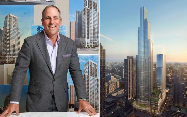 JDL founder Jim Letchinger and One Chicago Square