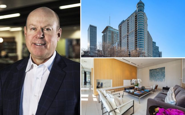White Lodging Chairman and CEO Bruce White and 840 North Lake Shore Drive