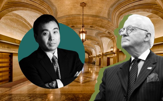 Charles Cui (left)and Ed Burke with City Hall (Credit: iStock)