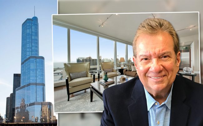 George Escobedo, President of Chicago Advertising and Marketing, and Trump Tower and the Escobedos' condo