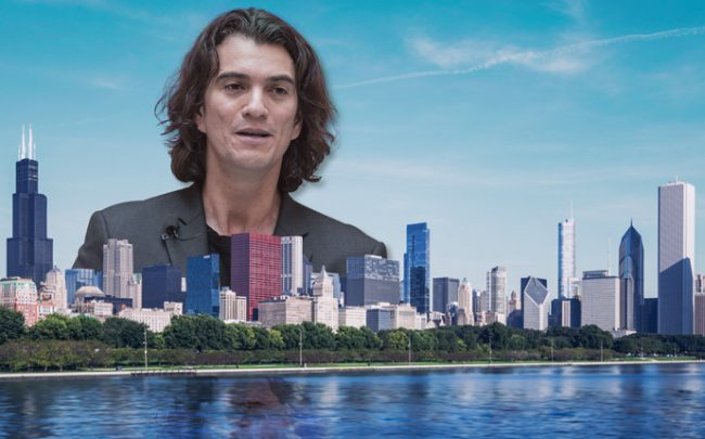 WeWork CEO Adam Neumann (Credit: Getty Images and iStock)