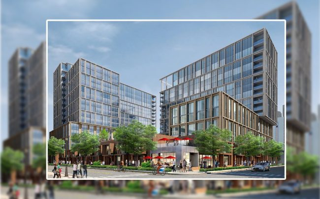 A rendering of 845 West Madison Street