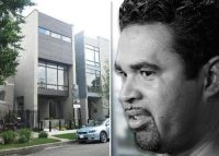 Ozzie Guillen and 1627 North Wolcott Street (Credit: Getty Images and Redfin)