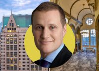 190 South LaSalle Street and Tishman Speyer's Rob Speyer (Credit: Tishman Speyer)