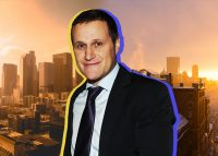 Tishman Speyer CEO Rob Speyer with Los Angeles (left) and Boston (right) (Credit: Unsplash)