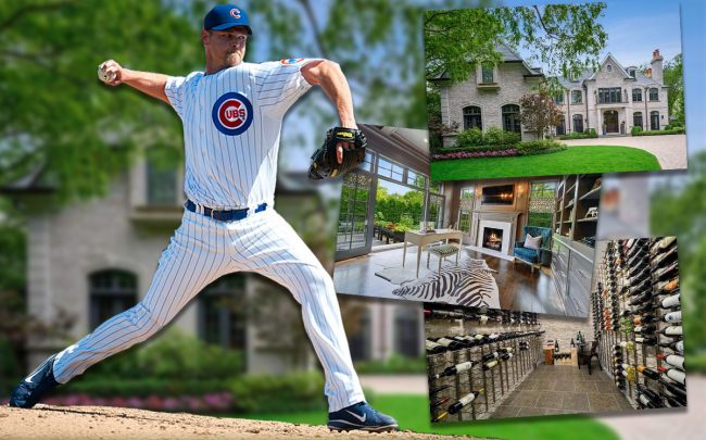 Kerry Wood and 884 Higginson Lane (Credit: Getty Images)
