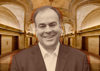 Cook County Assessor Fritz Kaegi and Chicago city hall