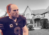Robbie Gould and 22394 North Prairie Lane (Credit: Zillow)