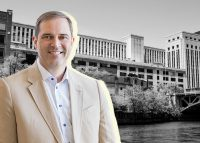 Cisco Systems CEO Chuck Robbins and Old Post Office (Credit: iStock)