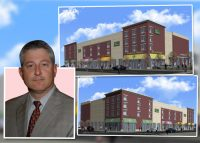 Bernard Edelman, principal of Innovative Markets, Inc. and renderings of the project
