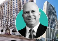 From left: 1250 North LaSalle, ESG Kullen President Eric Granowsky and 2 East Oak