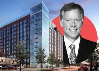 A rendering of 740 North Aberdeen and Fifield Companies CEO Steven Fifield (Credit: Curbed Chicago)A rendering of 740 North Aberdeen and Fifield Companies CEO Steven Fifield (Credit: Curbed Chicago)