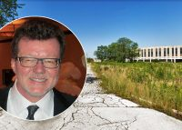 Gold Rush Gaming's Rick Heidner and the former Tinley Park Mental Health Center
