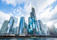 Chicago's business district (Credit: iStock)
