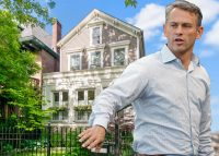 Jed Hoyer and 2436 North Orchard Street (Credit: Getty Images)