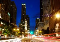 Chicago's Michigan Avenue, known as the Magnificent Mile (Credit: iStock)