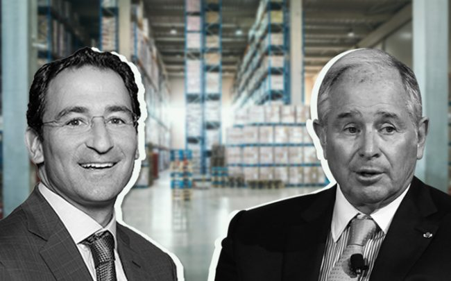 From left: Blackstone President and COO Jonathan Gray, and Blackstone CEO Stephen Schwarzman