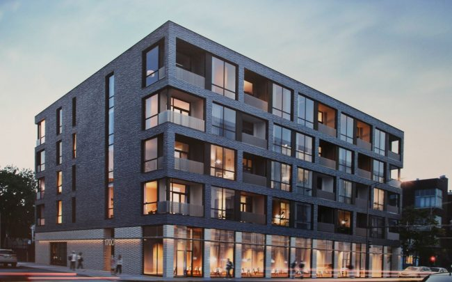 Rendering of 1700 North Western Avenue (Credit: via Chicago Cityscape)