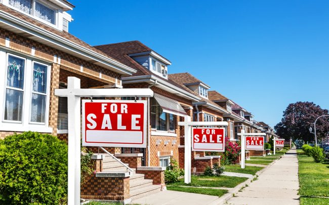 Home sales declined by 11.6 percent in June. (Credit: iStock)