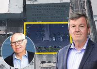 From left: F&F Realty President David Friedman, and FitzGerald Associates Chairman Pat FitzGerald with 920 West Lake Street (Credit: Google Maps)
