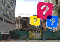 The site of the proposed Toyoko Inn Hotel at 320 South Clinton Street (Credit: Google Maps)