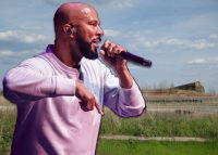Common and the South Works site (Credit: Getty Images, Flickr via Creative Commons)