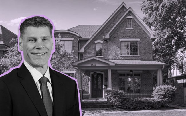 Loyola University basketball coach Porter Moser and 1515 Spencer Avenue in Wilmette