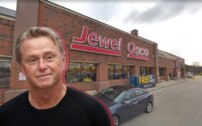 Fortress co-founder, principal and co-CEO Wes Edens and Jewel-Osco in Hoffman Estates (Credit: Getty Images and Google Maps)