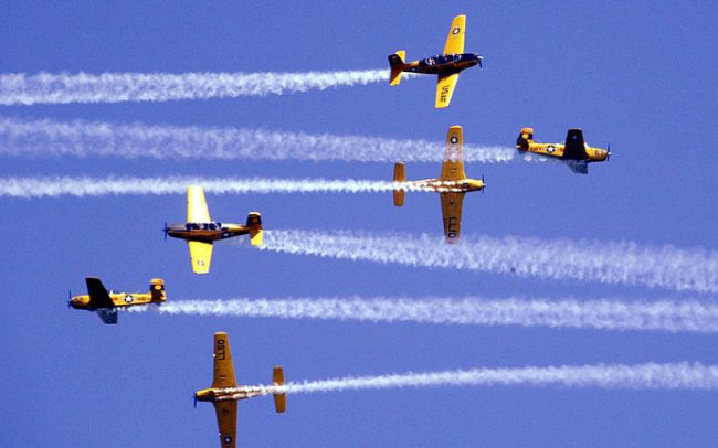 The Chicago Air & Water Show (Credit: Getty Images)
