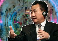 In China, Dalian Wanda Group Co. installed cameras in shopping centers to track shoppers' movements; pictured is Wang Jianlin, Chairman and President of Dalian Wanda Group