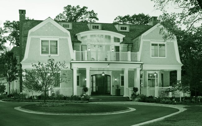 The home at Wentworth Avenue, which sold in late July for $9.68M (Credit: H. Gray Frank Architects)