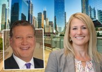 Colliers Chicago's Jim Carris and Alissa Adler
