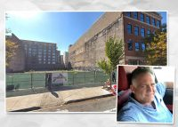 Peppercorn Capital founder Phil Denny and the development site at 1217 W. Washington Boulevard (Credit: Google Maps)