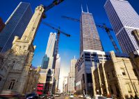 Chicago's top 5 retail contractors built over 357,000 square feet of new commercial develop from May 2018 to June 2019. (Credit: iStock)