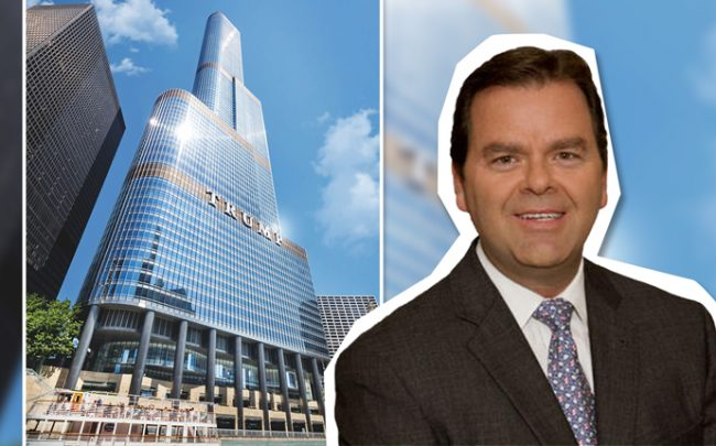 David Doebler and Trump Tower in River North