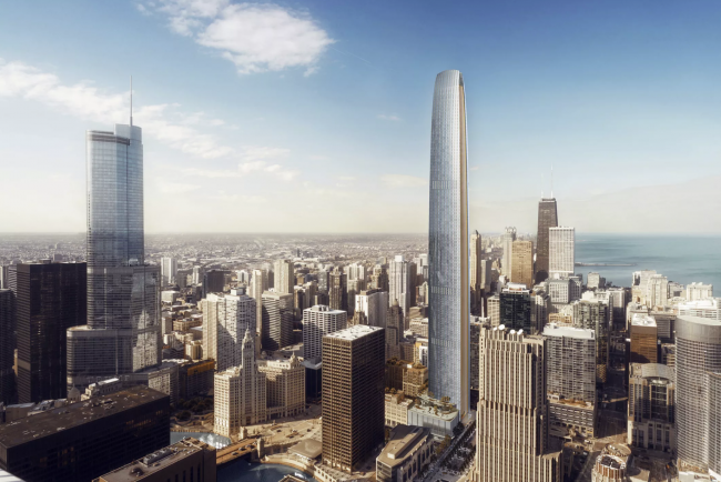 Renderings of Tribune Tower