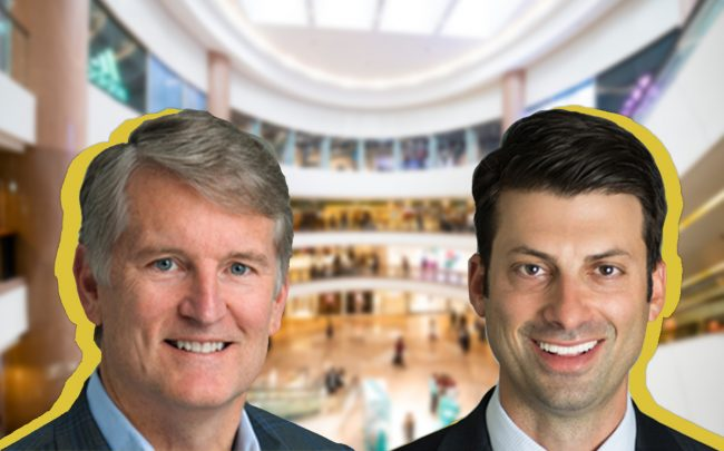 Brixmor Property Group CEO & President James M. Taylor Jr. and Core Acquisitions Managing Principal Adam Firsel (Credit: iStock)