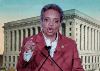 Mayor Lori Lightfoot and Chicago City Hall (Credit: Getty Images and Wikipedia)