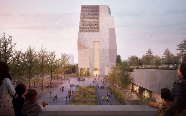 An updated rendering of the Obama Presidential Center (Credit: Obama Foundation)