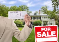 A luxury mansion in Winnetka (Credit: Redfin and iStock)