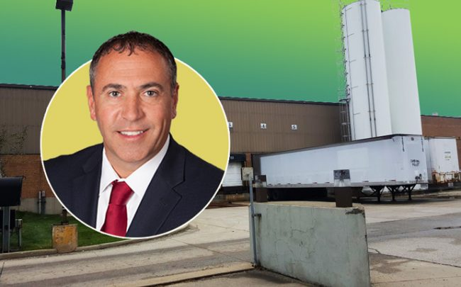 ML Realty Partners CEO Ryan Hesch and 7830 West 71st Street (credit: ML Realty Partners and BusinessYab.com)