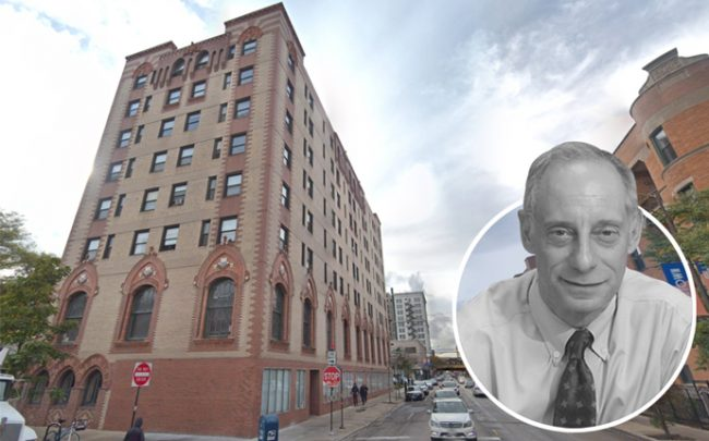 Building Group President and CEO Jim Stoller and the Lorali Hotel at 1039 W. Lawrence Avenue