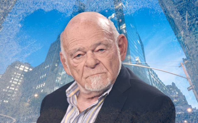 Equity Group president Sam Zell (Credit: Getty Images, iStock, Equity Apartments)