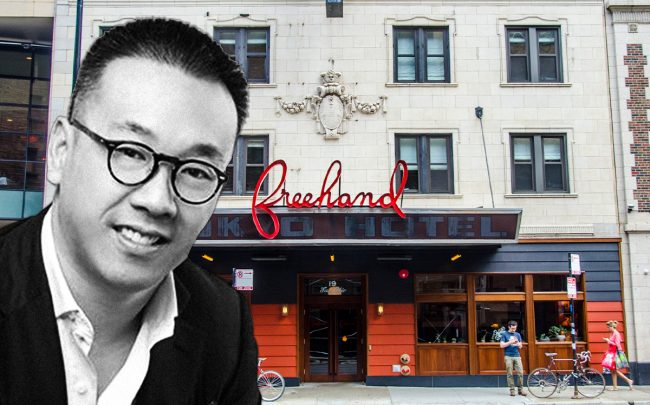 Freehand Hotel and Queensgate Investment Company CEO Jason Kow