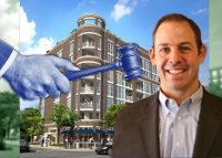 301 West North Avenue and Sedgwick Development President Marty Paris (Credit: iStock)