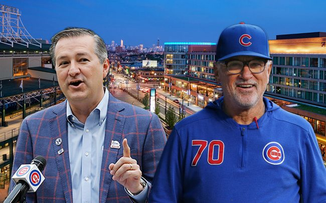 Hickory Street Capital with owners, Cubs Chairman Tom Ricketts and ex-Cubs manager Joe Maddon