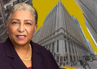 208 S. La Salle Street and Jana Wesley, managing director of Chicago PACE (Credit: Google Maps)