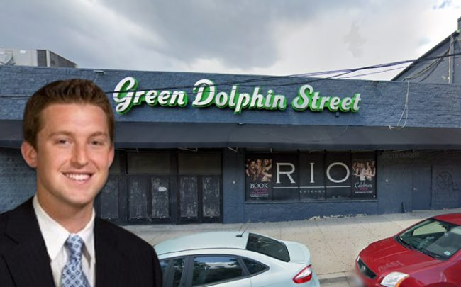 Kyle Glascott and the Green Dolphin nightclub