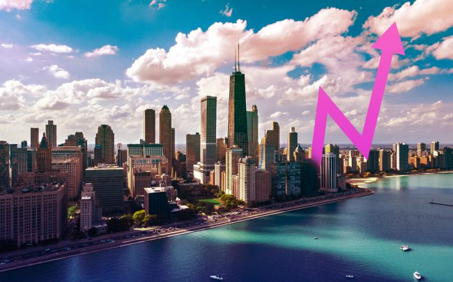Chicago saw more than 2 million square feet of new space absorbed into the Downtown office market (Credit: iStock)